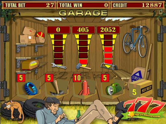 garage игровой автомат бесплатно