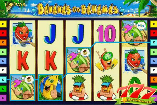 bananas go Bahamas игровой автомат бесплатно без регистрации
