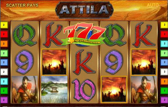 игровой автомат аттила бесплатно