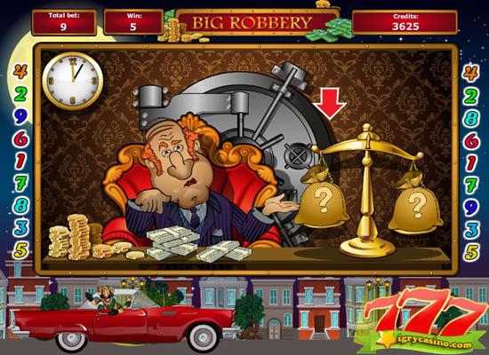 big robbery онлайн