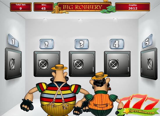 бесплатный игровой автомат большое ограбление