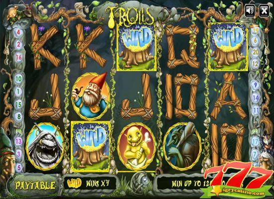 игровой автомат тролли