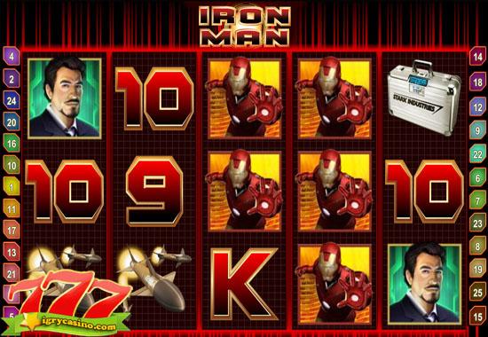 игровой автомат железный человек бесплатно