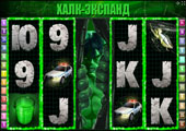 игровой автомат hulk