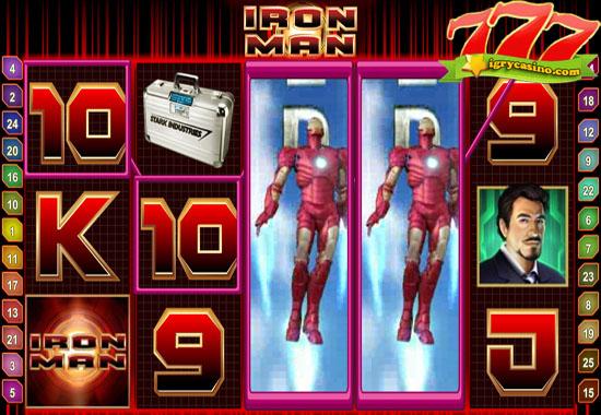 игровой автомат iron man от playtech