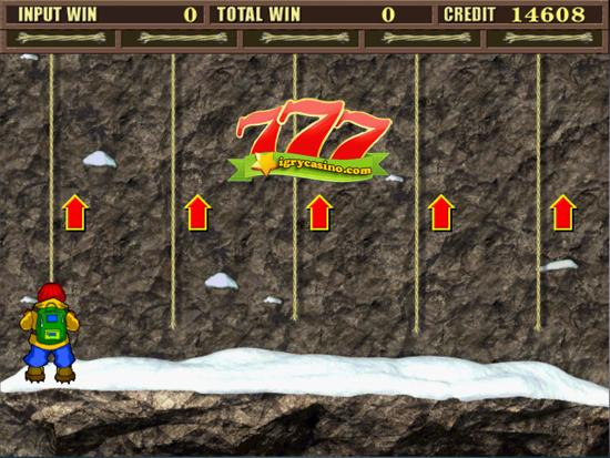 бесплатный игровой автомат скалолаз