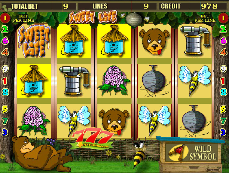 игровой автомат медведь бесплатно