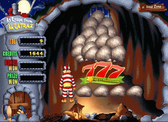 игровой автомат Alcatraz бесплатно
