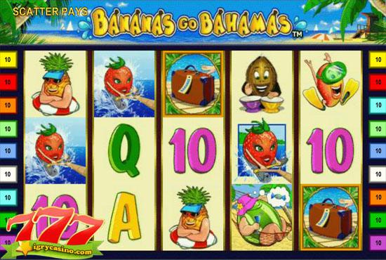 бананы едут на багамы игровой автомат
