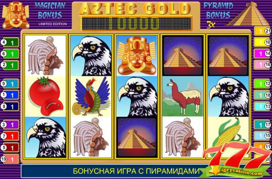 бесплатный игровой автомат золото ацтеков