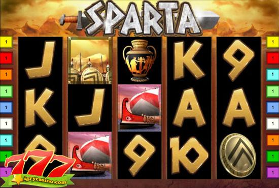 игровой автомат Sparta бесплатно