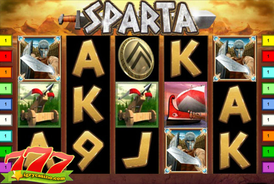 sparta онлайн игровой автомат