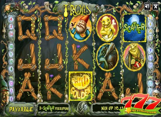 бесплатный игровой автомат тролли