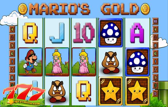 marios gold игровой автомат бесплатно