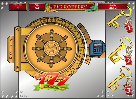 бесплатный игровой автомат big robbery