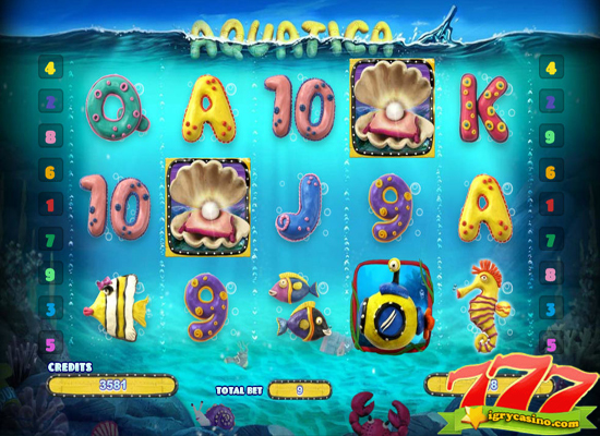 играть в игровой автомат aquatica