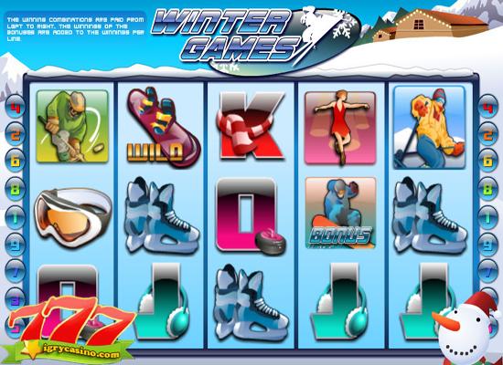 бесплатный игровой автомат winter games