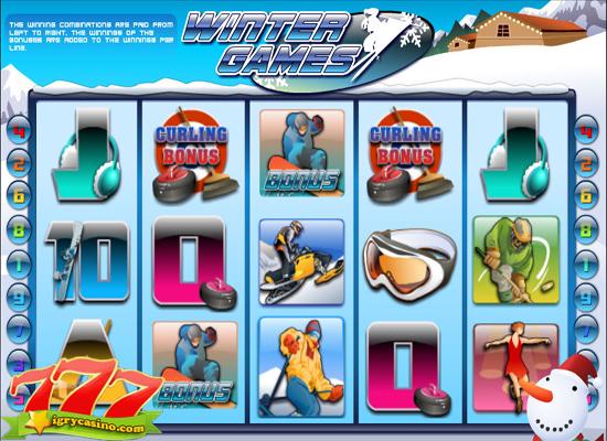 игровой автомат winter games играть бесплатно