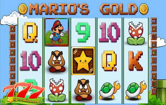 бесплатный игровой автомат mario
