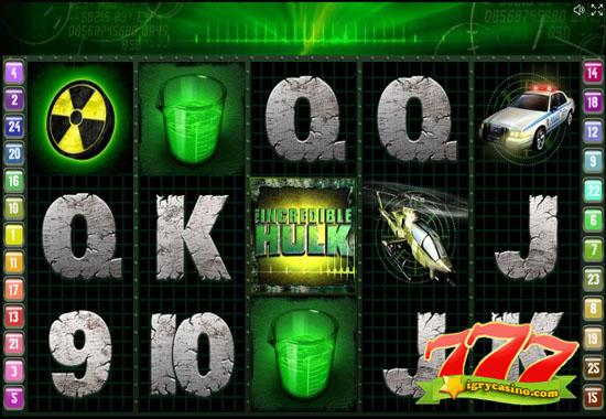 hulk игровой автомат бесплатно