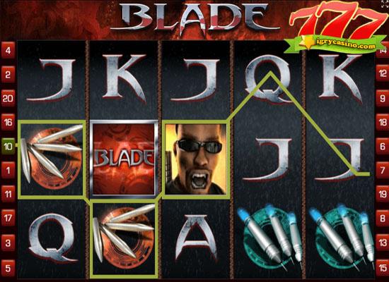 Играйте в игровой автомат Blade у нас на сайте бесплатно и без регистрации.Только честная игра в любимые слоты без вложений.