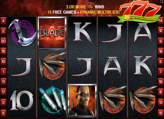 игровой автомат blade играть бесплатно