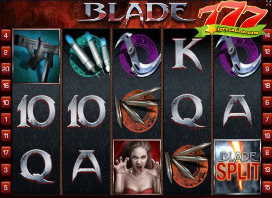 Игровой автомат blade бесплатно онлайн